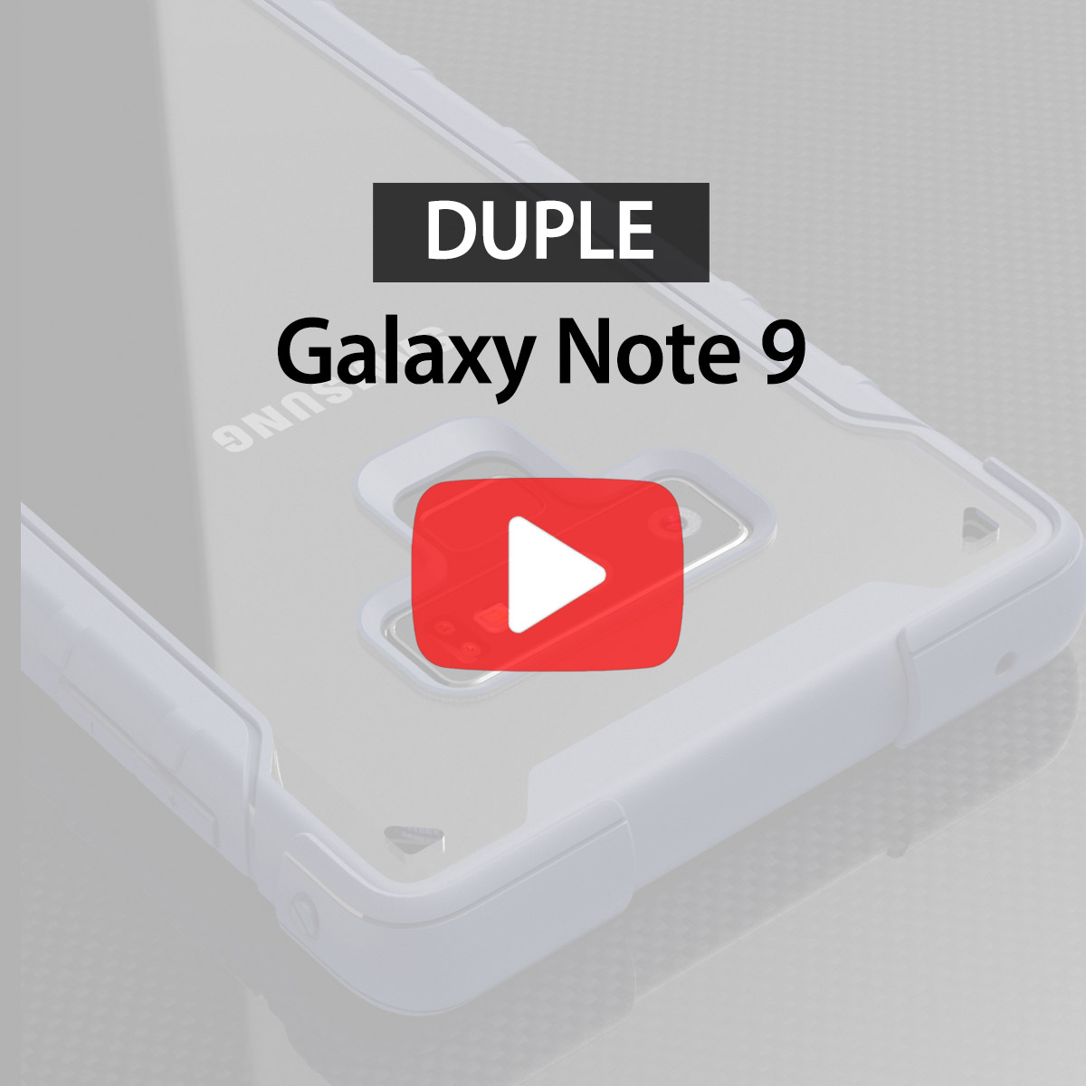 [araree] Duple for Galaxy Note 9